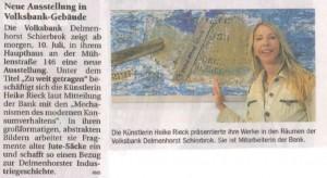 Delmenhorster Kreisblatt 09.07.2014
