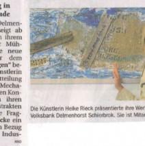 Zeitungsartikel Delme Report 9.07.2014